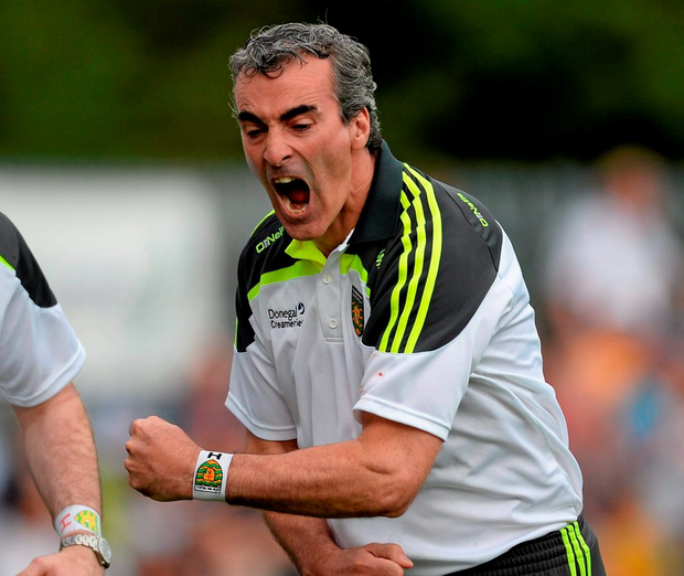 Donegal manager Jim McGuinness. Photo: Oliver McVeigh / Sportsfile