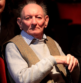 Brian Friel. Photo: Gareth Chaney Collins
