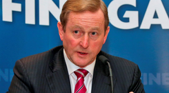 Going nowhere: Taoiseach Enda Kenny