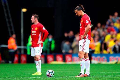 It was another bad day at the office for Manchester United
