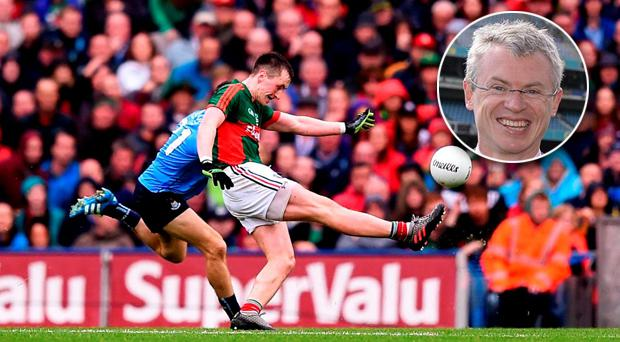 Joe Brolly has challenged Mayo to beat Dublin on October 1
