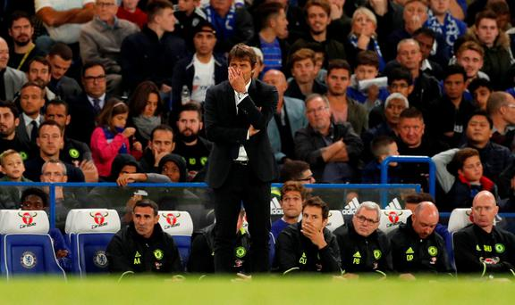 Conte: Chelsea lacked the attention of a great team