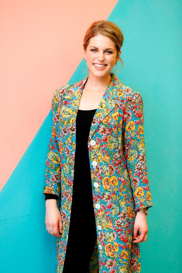 Amy Huberman at the launch of RTÉ2s new Drama Cant Cope, Wont Cope at the ODEON Point Village. Picture: Andres Poveda