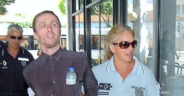 Dublin man Paul Gloster outside court in Portugal