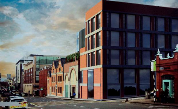 An artist impression of the Gardens International site on Henry Street, Limerick. Picture: Sean Curtin Ture Media.