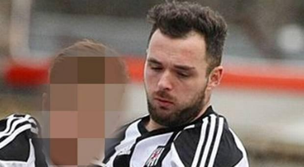 Former Wakehurst FC footballer Nigel Turner who assaulted an elderly fan at 'friendly' at Bangor FC