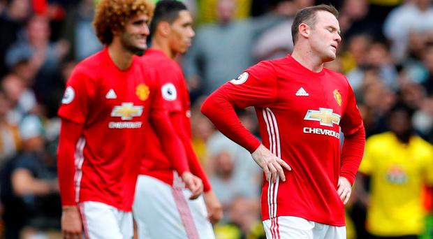 Manchester United's Wayne Rooney has had a tough time of late