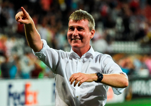 Dundalk manager Stephen Kenny. Photo: David Maher/Sportsfile