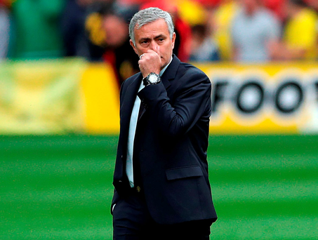 Manchester United manager Jose Mourinho. Photo: Nick Potts/PA Wire.