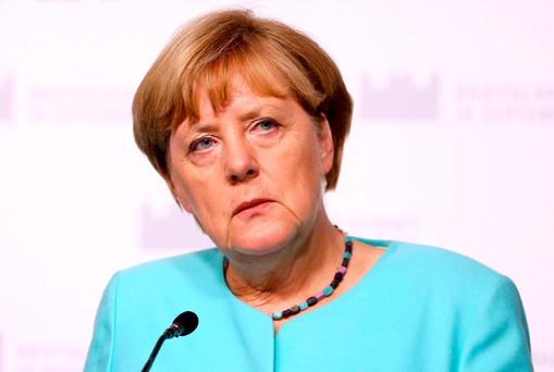 German Chancellor Angela Merkel. Photo: Leonhard Foeger/Reuters