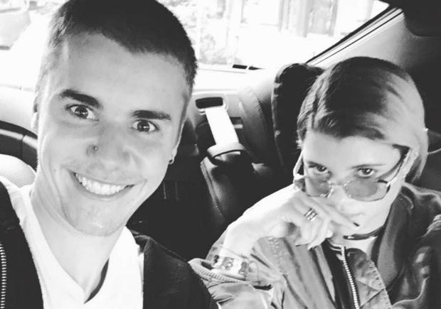 Justin Bieber and Sofia Richie. Picture: Instagram