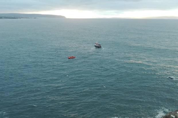 Coleraine Coastguard and Portrush Inshore Lifeboat were involved in the rescue bid.