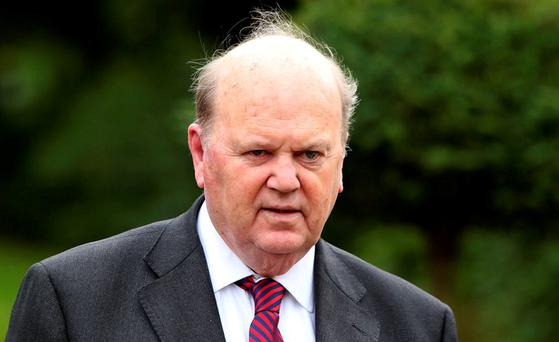 Finance Minister Michael Noonan. Photo: Damien Eagers