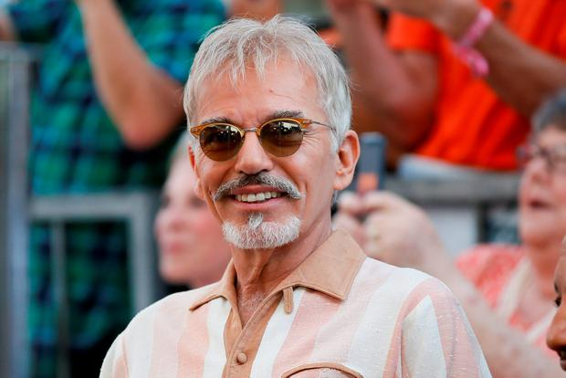 Actor Billy Bob Thornton smiles during a ceremony honoring actor Kathy Bates with a star on the Hollywood Walk of Fame in Hollywood, California. Reuters/Danny Moloshok