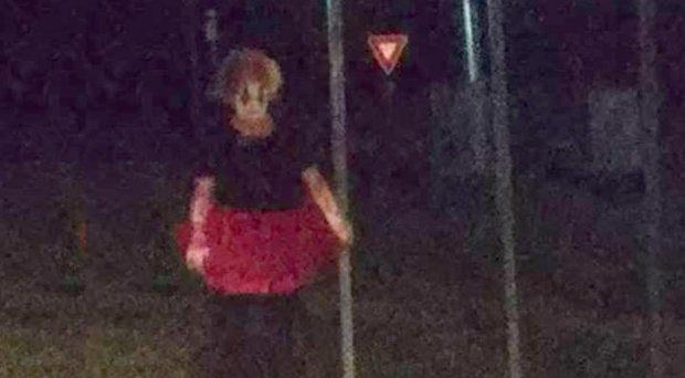 'Creepy' clown sightings have been reported across the United States CREDIT: FACEBOOK/JAMIE HILL