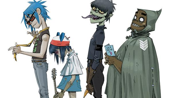 Gorillaz launched a new website and Instagram account