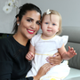 Farrah Tayob and her daughter Anabel (1) who survived meningitis