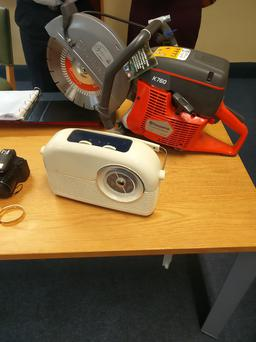Some of the items on display today at Pearse Street Garda Station