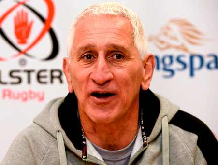 Ulster assistant coach Joe Barakat. Photo: Oliver McVeigh / Sportsfile