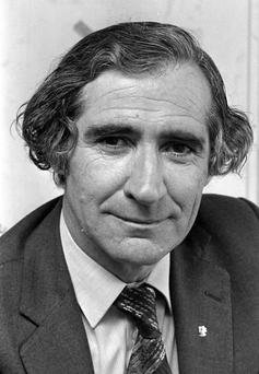 Desmond Rushe, former critic with the Irish Independent