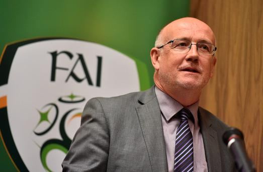 FAI Competition Director Fran Gavin has revealed the length of the regular League of Ireland season is likely to be extended from next year. Photo: Sportsfile