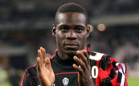 Nice's Mario Balotelli has enjoyed a fruitful start in France CREDIT: ERIC GAILLARD/REUTERS