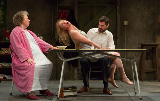 The Beauty Queen of Leenane is showing in the Town Hall, Galway