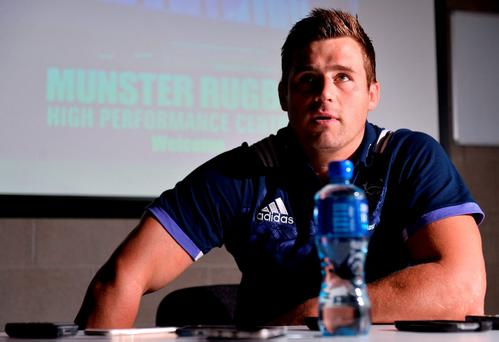 Munster's CJ Stander. Photo by Sam Barnes/Sportsfile
