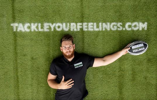 Connacht flanker Jake Heenan will speak at the Tackle Your Feelings mental wellbeing event at The G Hotel, Galway next Tuesday, September 27. Picture: INPHO