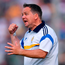 Davy Fitzgerald in familiar pose on the sideline – Clare hurlers will have a new manager to inspire them next year. Photo: Stephen McCarthy/Sportsfile