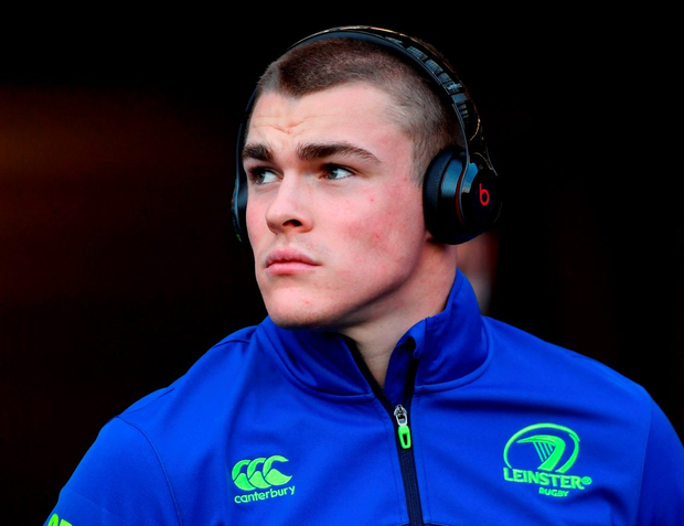 Leinster's Garry Ringrose says he's in no rush to the top. Photo: Ramsey Cardy/Sportsfile