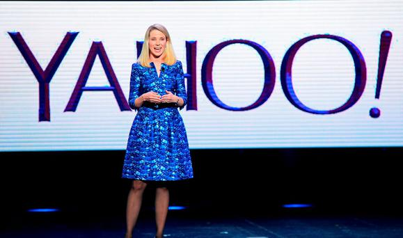 Yahoo! president and CEO Marissa Mayer. (Photo by Ethan Miller/Getty Images)