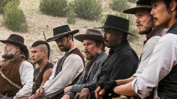 Gunslingers: The cast of 'The Magnificent Seven'