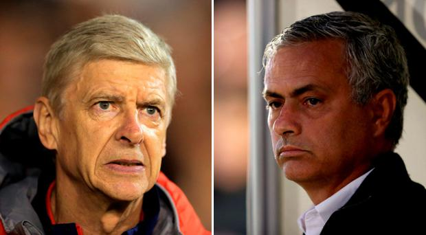 Arsene Wenger and Jose Mourinho have been at loggerheads for over a decade