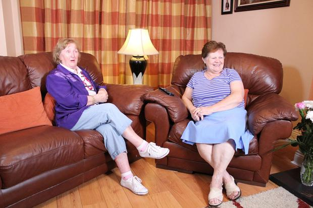 Angela and Eileen from Castleknock on Gogglebox Ireland