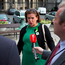 Sinn Féin deputy leader Mary Lou McDonald speaks to the media at Leinster House. Photo: Colin O'Riordan