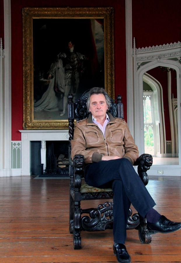 Lord Henry Mountcharles in Slane Castle. Photo: Lorraine Teevan