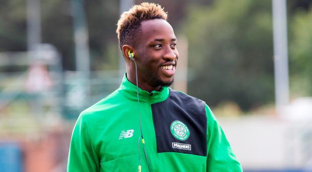 Dembele: Arrival at Celtic Picture: PA