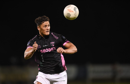Lee Chin of Wexford Youths