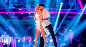 Laura Whitmore (left) and Giovanni Pernice