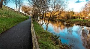Linear Park in Newbridge Co Kildare