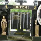 The grave of murdered Gary Hutch, inset