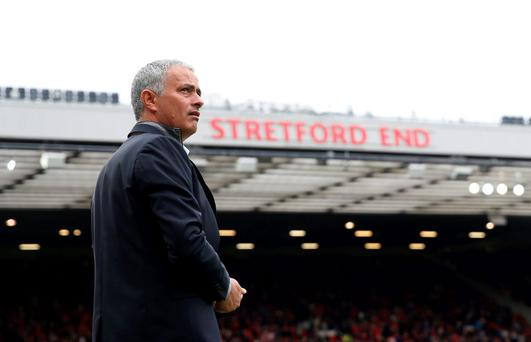 Manchester United manager Jose Mourinho Action Images via Reuters  Carl Recine