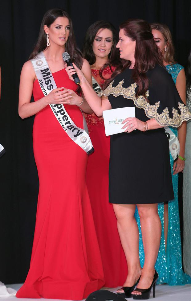 Winner Niamh Kennedy representing Tipperary at the Miss Ireland 2016 final at Northwood, Dublin. Picture: Brian McEvoy