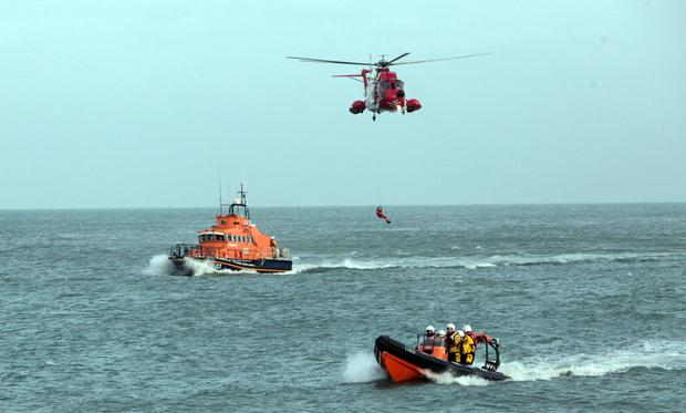 An army of volunteers who live locally make up the bulk of staff at the Irish Coast Guard. Stock picture