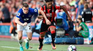 Everton's Seamus Coleman in action with Bournemouth's Jordon Ibe Reuters / Hannah McKay