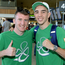 Boxers Paddy Barnes, left, and Michael Conlan set off for the 2016 Olympic Games in Rio. Photo: Brendan Moran/Sportsfile