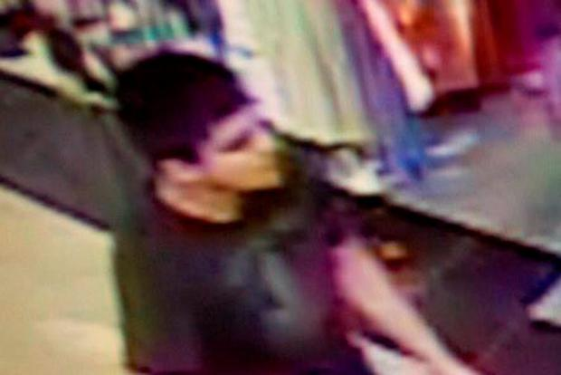 This video image shows a suspect wanted by police. Photo: AP