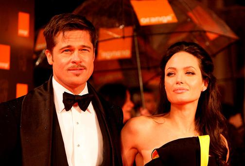 Get a grip: Media remains transfixed by Brangelina's split. Photo: Yui Mok/PA Wire