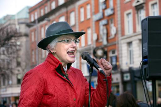 Children's Minister Katherine Zappone insists on limiting any new childcare subsidies to those earning €47,000 or less. Photo: Tony Gavin
